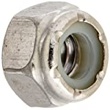 The Hillman Group 829720 1/4 by 20-Inch Stainless Steel Nylon Insert Locknut, 50-Pack