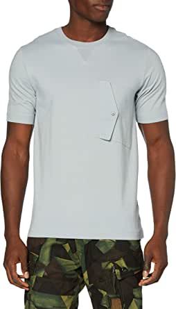 G-Star Raw heren t-shirt Pocket Squtar