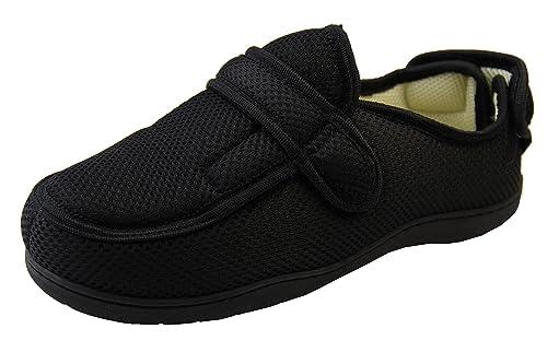 781cbc02 Footwear Studio Hombre Ajustable de Velcro Zapatillas Ortopédica:  Amazon.es: Zapatos y complementos