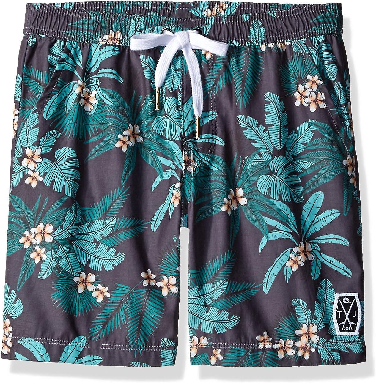 Seafolly Boys Summer Jungle Boardie Leaf Print