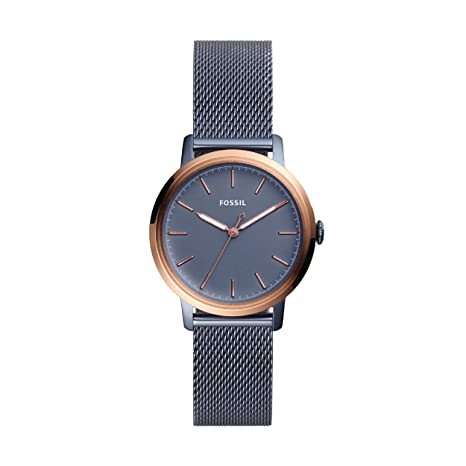 Fossil Women's Analogue Quartz Watch With Stainless Steel Strap Es4312 by Fossil