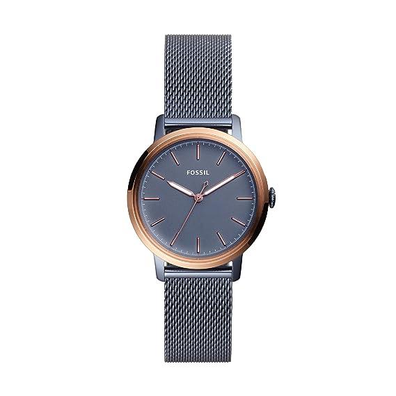 c36f4b0b3693 Fossil Reloj Analogico para Mujer de Cuarzo con Correa en Acero Inoxidable  ES4312  Amazon.es  Relojes