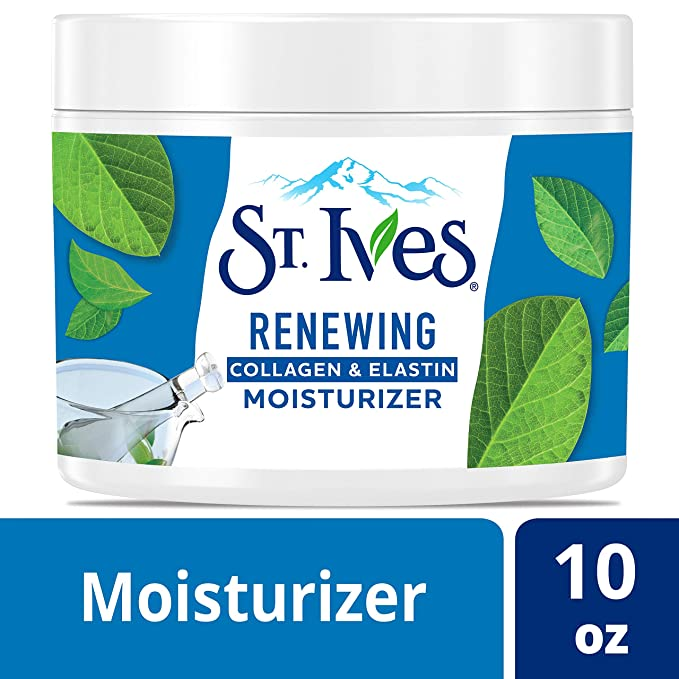 St. Ives Facial Moisturizer For Dry Skin, Collagen Elastin, 10 Oz by St. Ives