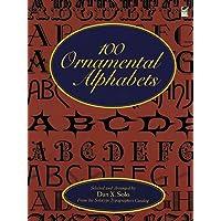 100 Ornamental Alphabets
