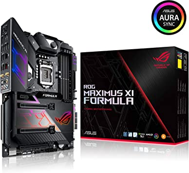 Amazon.com: Asus ROG Maximus XI Formula LGA1151 (Intel 8th ...