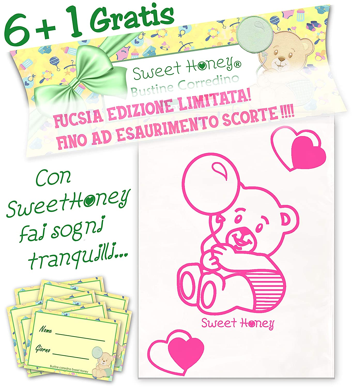 omaggio ideas de regalo Azzurro correa para beb/é SweetHoney para nacimiento 6 bolsas bolsas transparentes cierre herm/ético con cursor