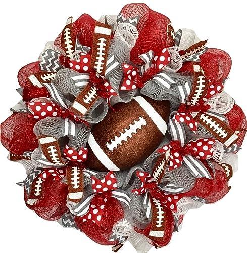Football Wreath Football Game