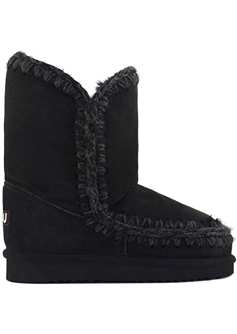 bca1b3da78 MOU ESKIMO24 BKBK ESKIMO BOOT 24 CM STIVALE NERO: Amazon.es: Zapatos y  complementos