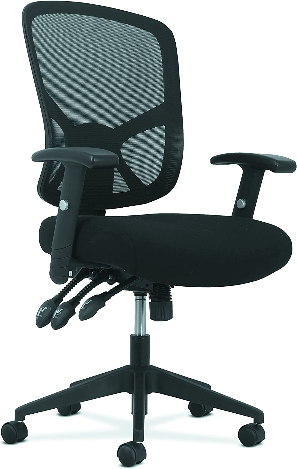 Sadie Customizable Ergonomic High-Back Mesh Task Chair with Arms and Lumbar Support - Ergonomic Computer/Office Chair (HVST121)