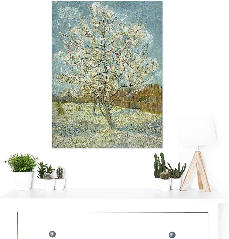 Vincent Van Gogh de Roze perzikboom gran impresión arte enmarcado