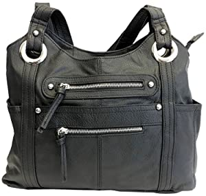 Roma Leathers Locking Concealment Purse