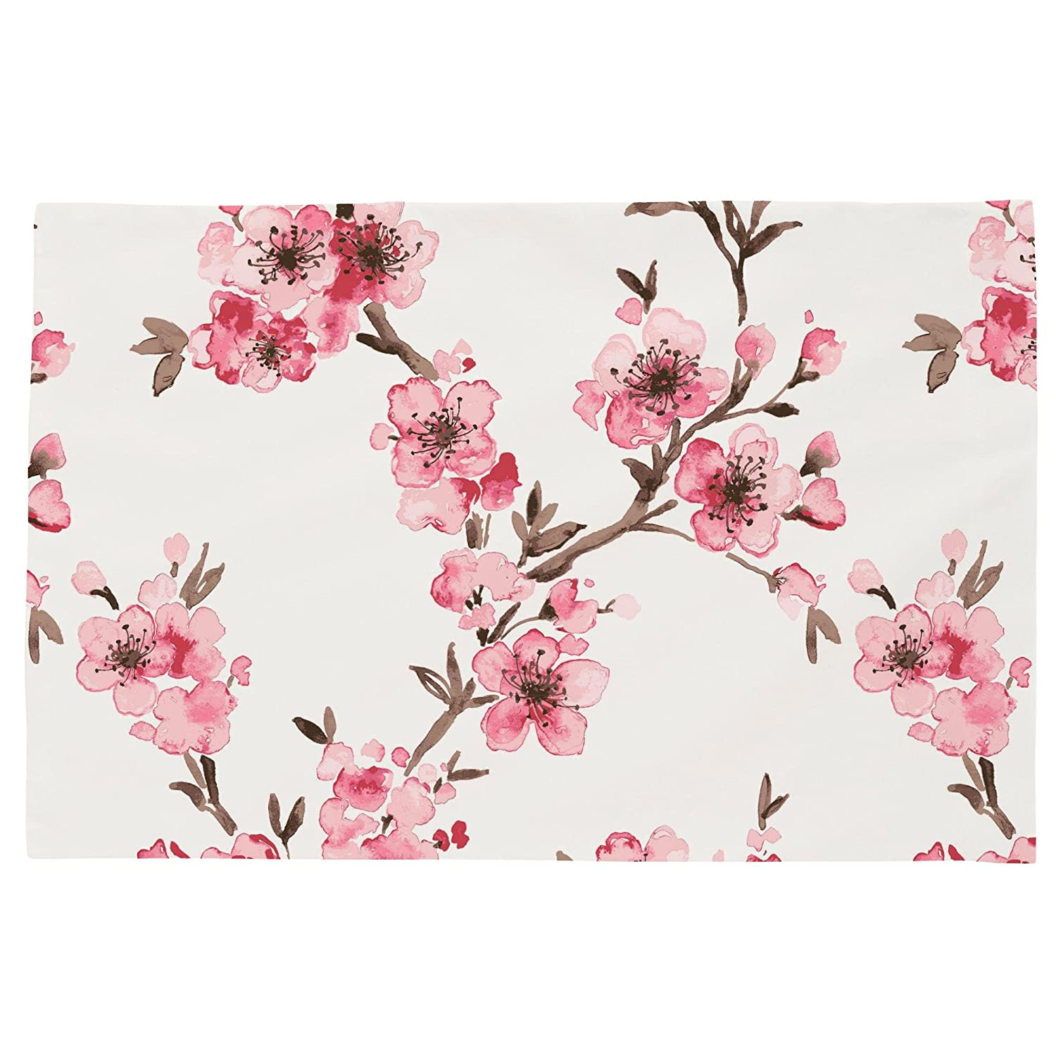 Carousel Designs Pink Cherry Blossom Toddler Bed Pillow Case