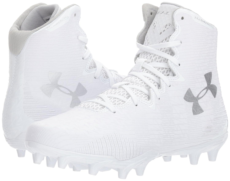 Under Armour Women's Lax Highlight MC M Lacrosse Shoe B06XNKPXSX 8.5 M MC US|White (104)/White 017060