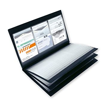 Sigel Vz175 Business Card Album For Up To 288 Cards Black Amazon
