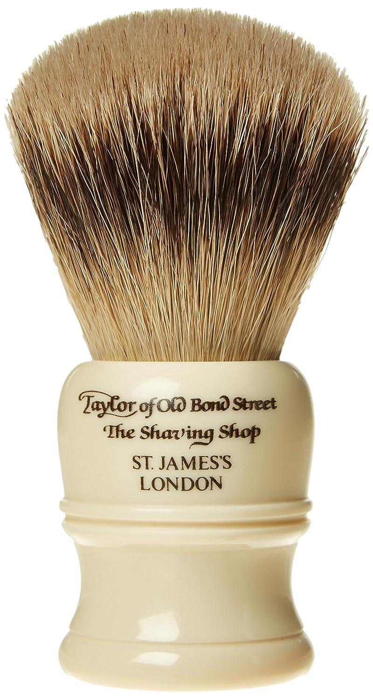Taylor of Old Bond Street Super tejón Medium imit Marfil afeitado cepillo SH 2