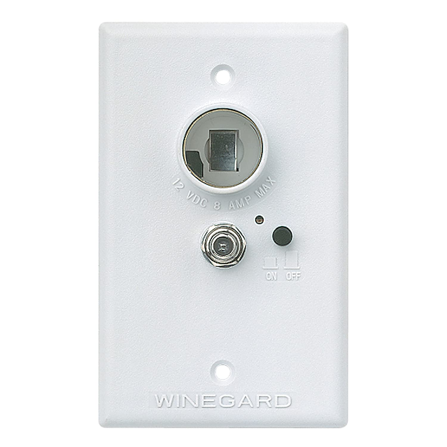 81WJRG%2BAb6L._SL1500_ amazon com winegard rv 7042 wall plate power supply white 30 Amp RV Wiring Diagram at creativeand.co