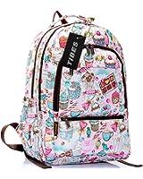 Tibes reizende Art Rucksack Netter Taschen Funny Rucksack für Kinder Multicolor 3