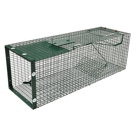 Moorland Safe 5002 - Trampa para Animales Vivos - 90x30x30 cm - para martas, Gatos