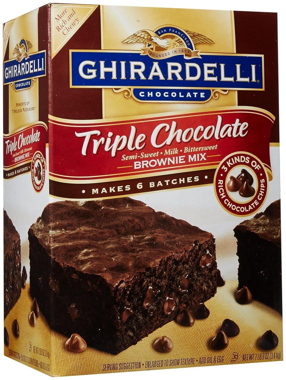 Ghirardelli Cake Like Brownies