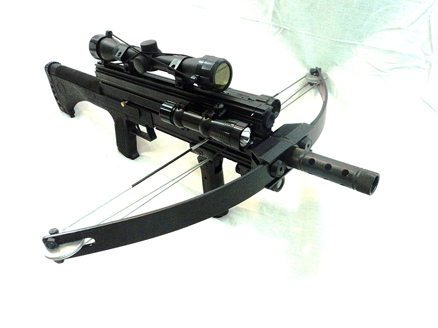 WILLIAM TELL ARCHERY WT4 Tactical Multifunctional Crossbow 200 Steel Ball Magazine