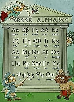 Mon Alphabet Grec Alphabet Alphabet Enseigner Enseigner
