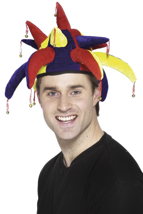 Mutze Clown Erwachsene Kostum Harlekin Hut Narr Kappe Karneval