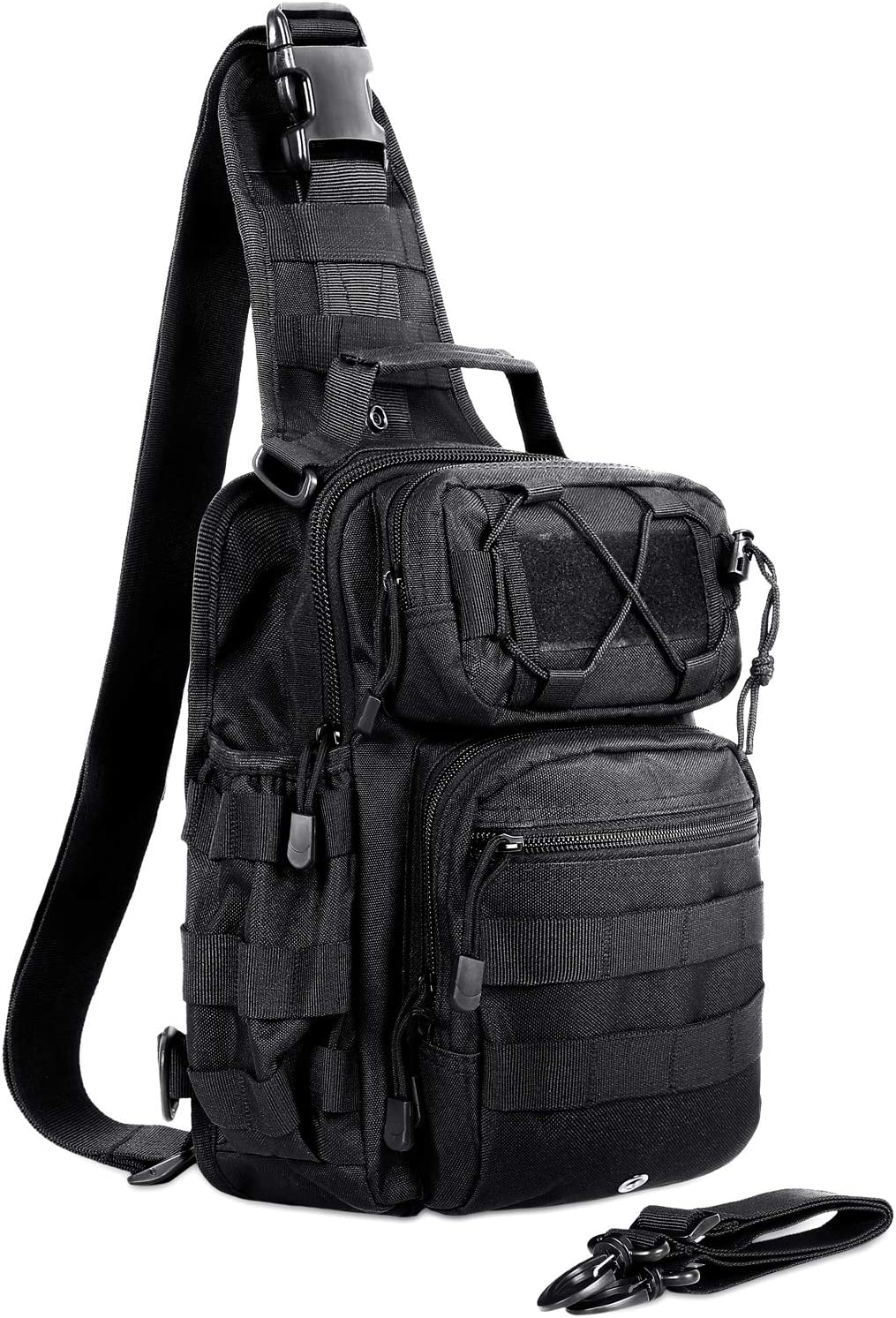 AmHoo Tactical Sling Bag Outdoor EDC Molle Backpack