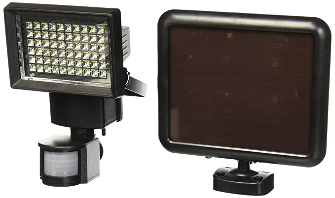 Proyector solar LED con sensor de movimiento de la marca ...