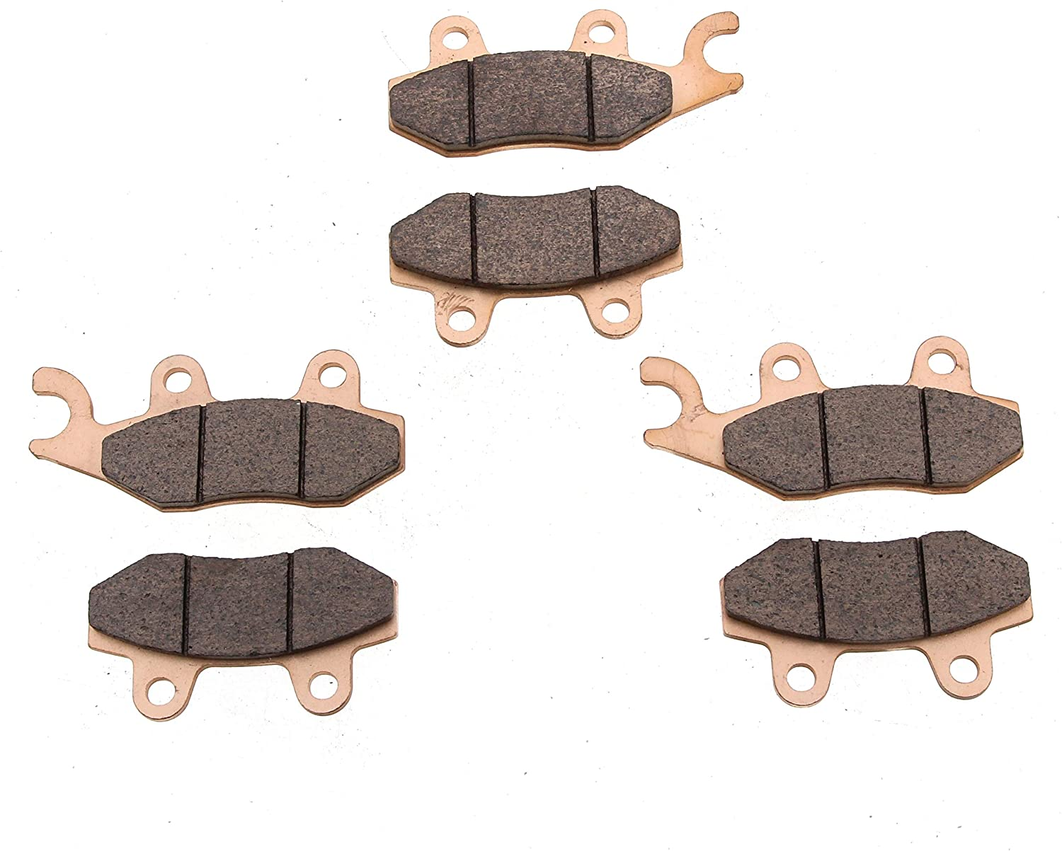 Brake Pads Arctic Cat Wildcat X 1000 Limited 2014 Front Rear Brakes Race-Driven