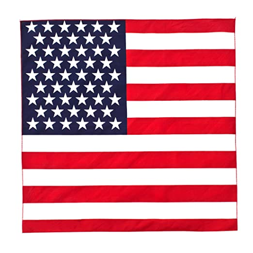 Amazoncom Great Deals Bandana American Flag Fourth Of July