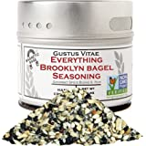 Everything Brooklyn Bagel Seasoning - Authentic Artisanal Gourmet Spice Mix - Non GMO Project Verified - 1.9 oz - Small…