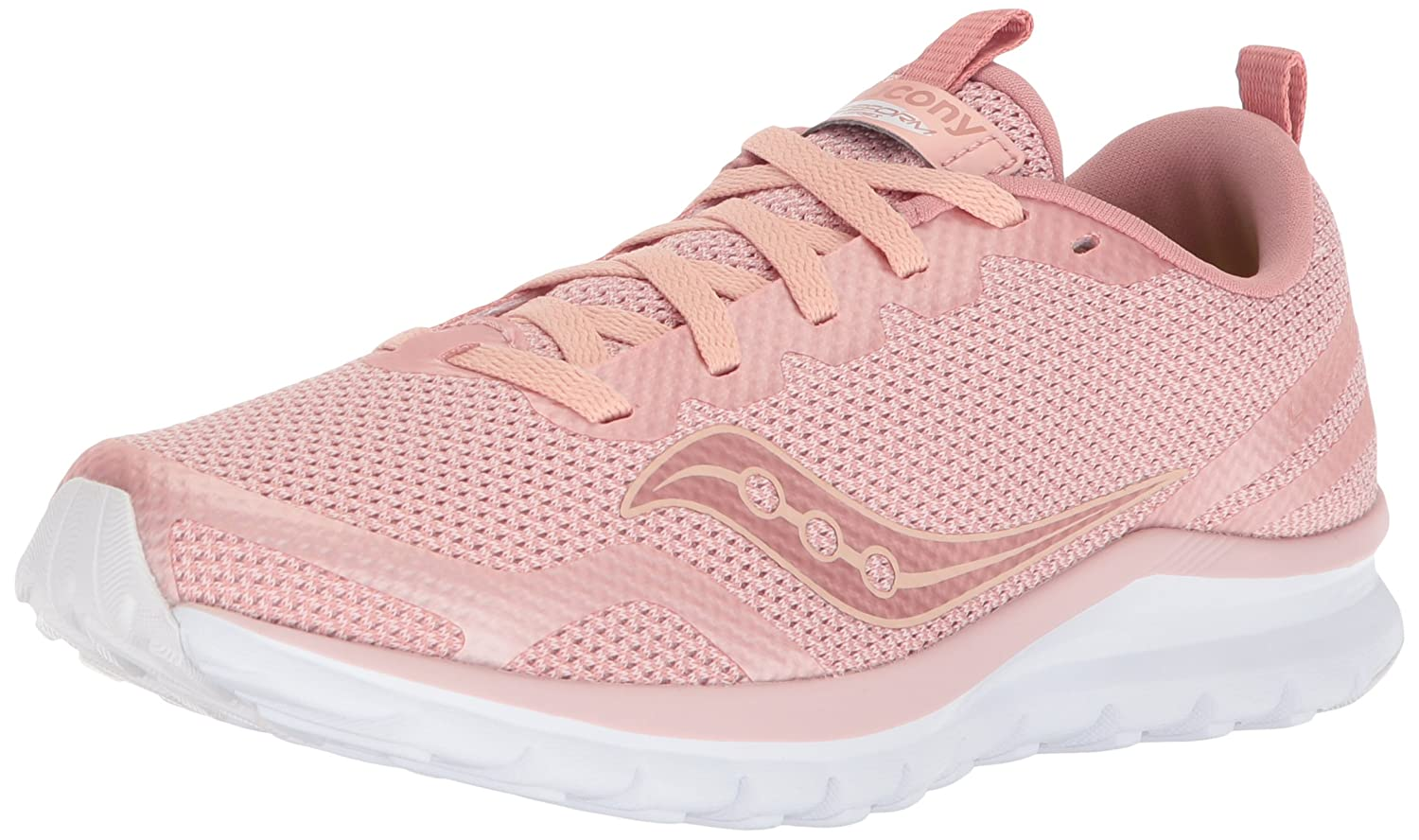 Saucony Women's Liteform Feel Running Shoe B071JNMHK4 9 B(M) US|Blush
