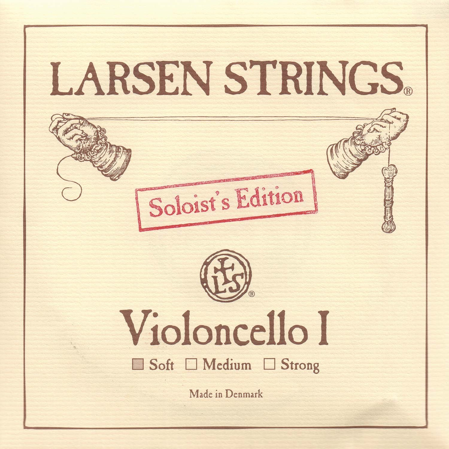 Larsen Soloist 4/4 Cello A String Soft Alloy-Steel