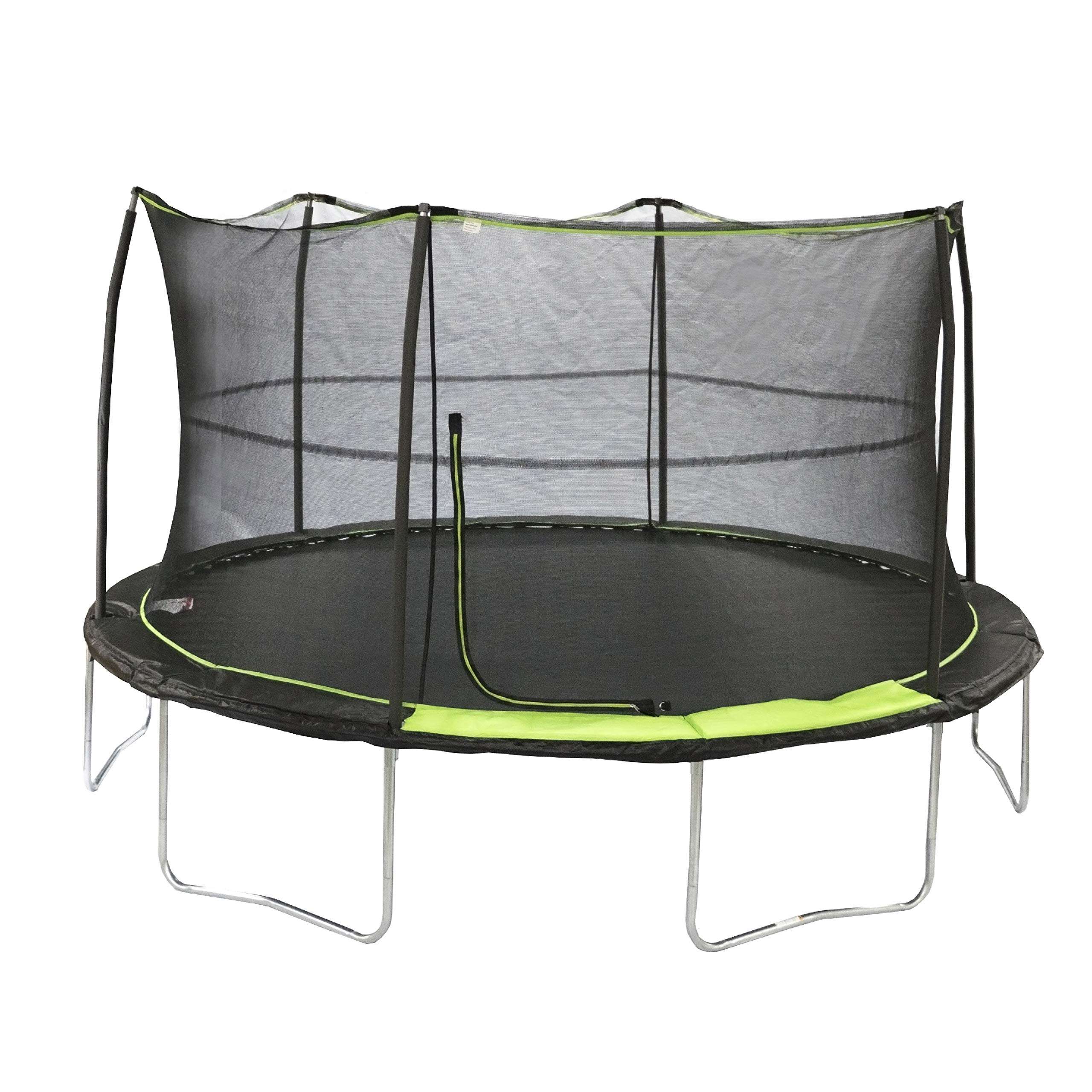 JumpKing 14' Trampoline with 6 Poles by JumpKing