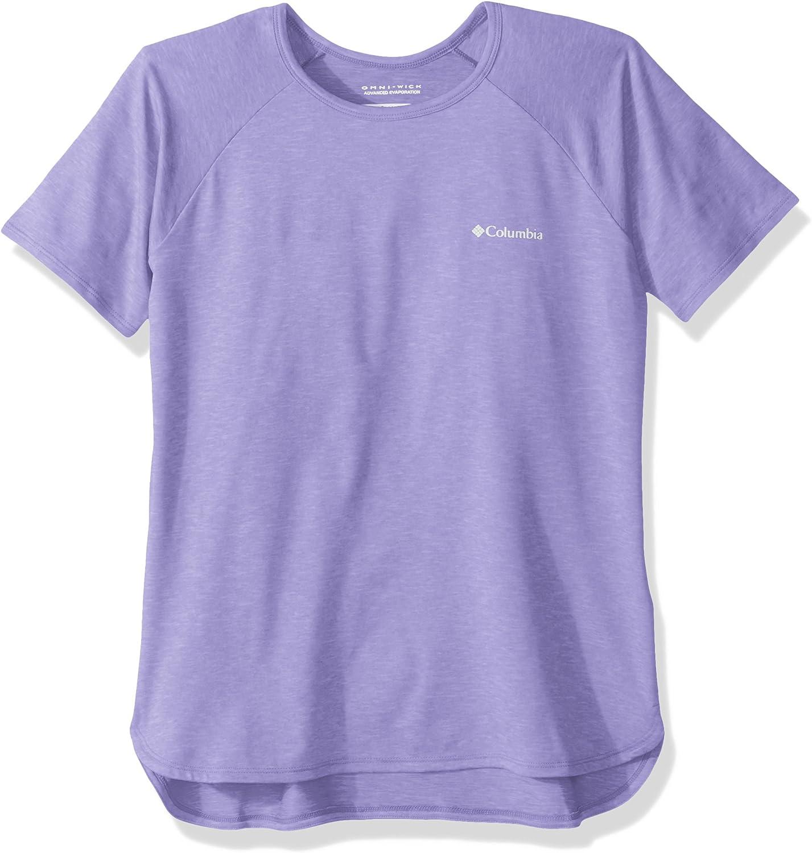 Columbia Silver Ridge II Short Sleeve tee Camiseta de Manga Corta Ni/ñas