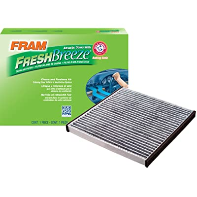 FRAM CF10132 Fresh Breeze Cabin Air Filter with Arm & Hammer: Automotive