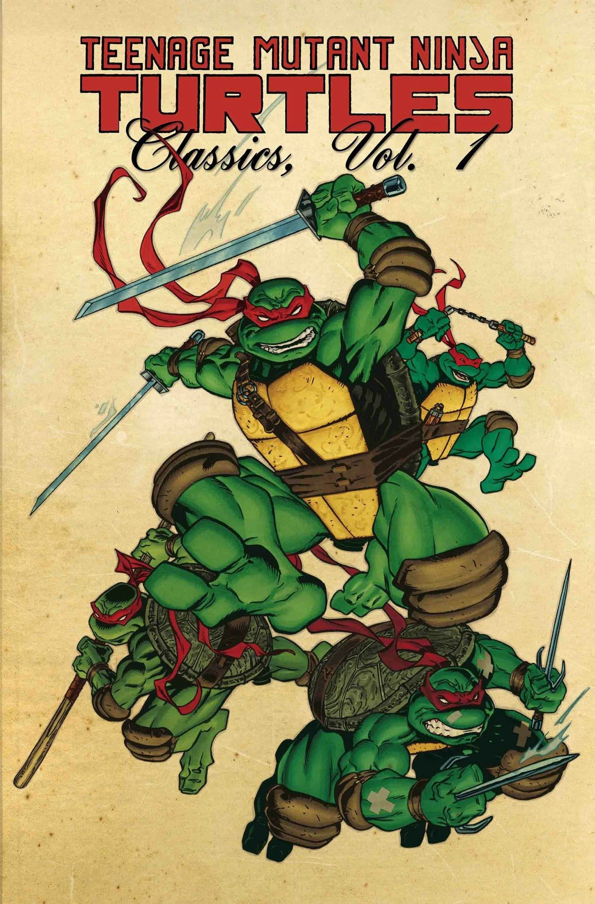 Teenage Mutant Ninja Turtles Classics Volume 1 by Nickelodeon
