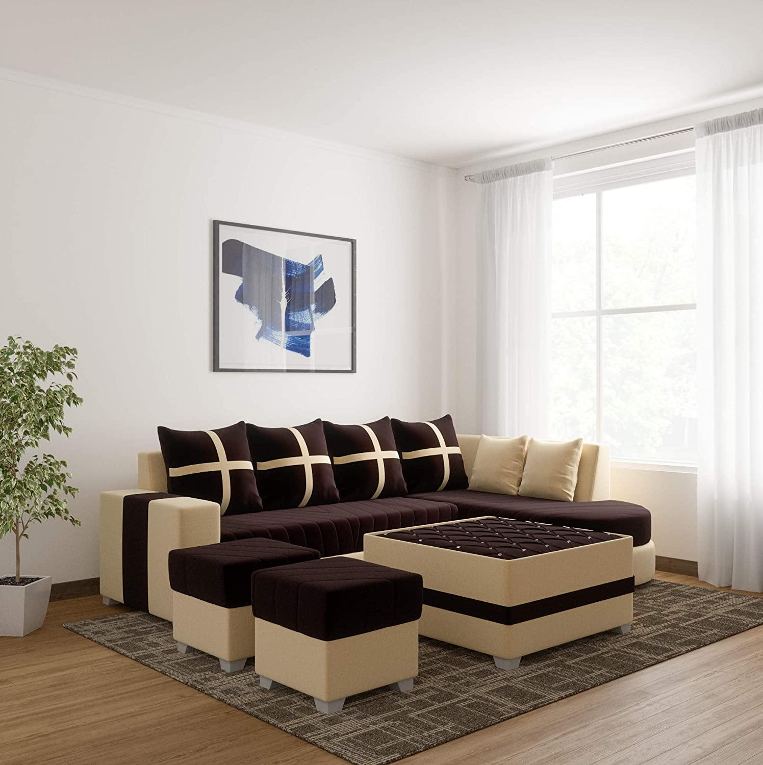 WUDCORP-Chicago_Full_Sofa_Set_With_Center_Table And 2