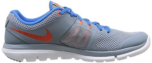 Nike Flex 2014 Rn, Baskets mode homme - Gris (Mgnt Gry/Tm Orng-Pht Bl-Hypr C),  44.5 EU: Amazon.fr: Chaussures et Sacs