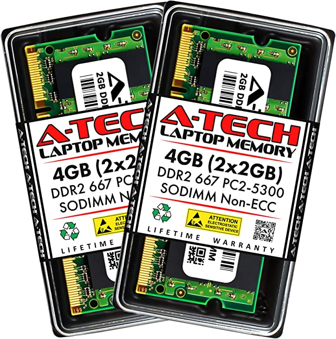 RAM Memory Upgrade for The Toshiba Portege M400 PPM40U-0V701K 1GB DDR2-667 PC2-5300