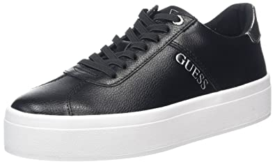 Guess Fhala, Sneakers Basses Femme, (Nero), 37 EU