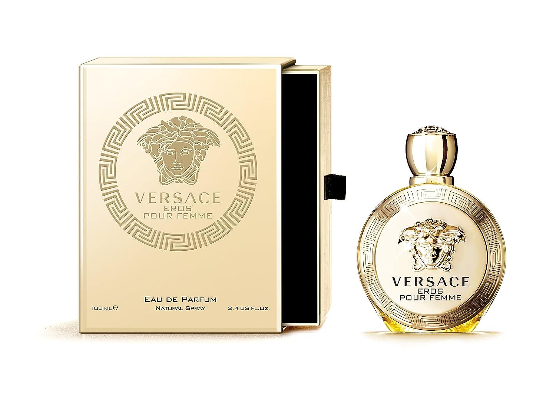 Amazon.com   Versace Eros Pour Femme Eau de Parfum Spray, 3.4 Ounce   Beauty d8a8575af6e