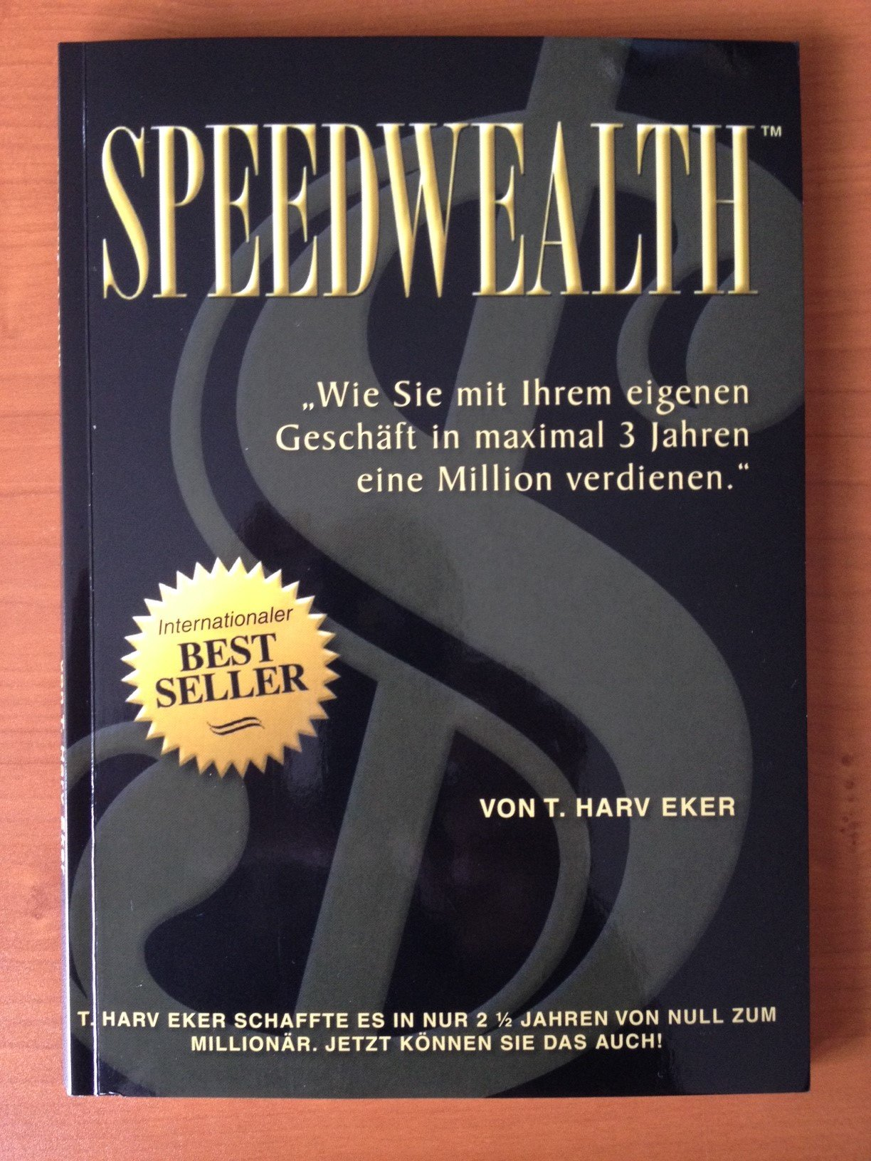 Speedwealth Amazon Co Uk T Harv Eker 9780968985502 Books