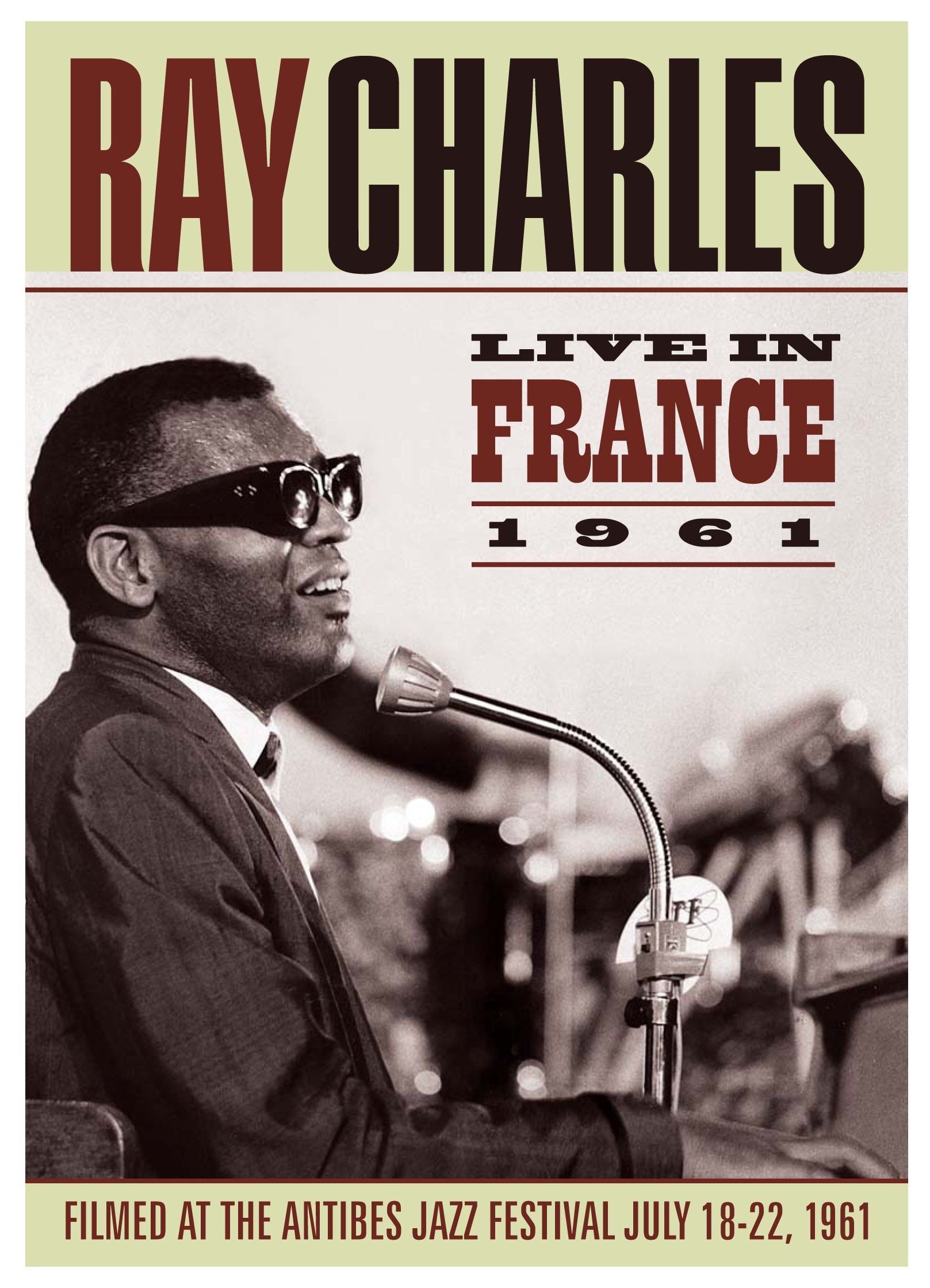 Ray Charles - Live In France (DVD)