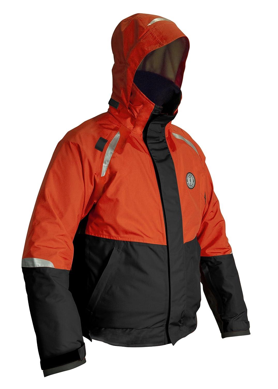 ムスタングサバイバル - 触媒浮選コート B0076IBE0O Large|オレンジ/ブラック オレンジ/ブラック Large
