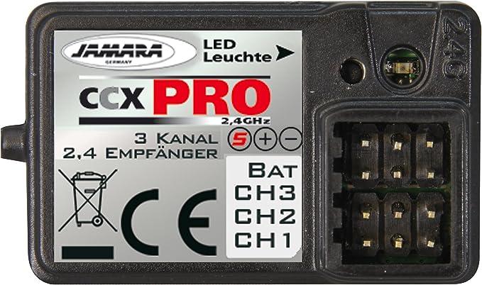 Jamara CCX 2,4Ghz 3 Kanal Pro Empfänger 061185
