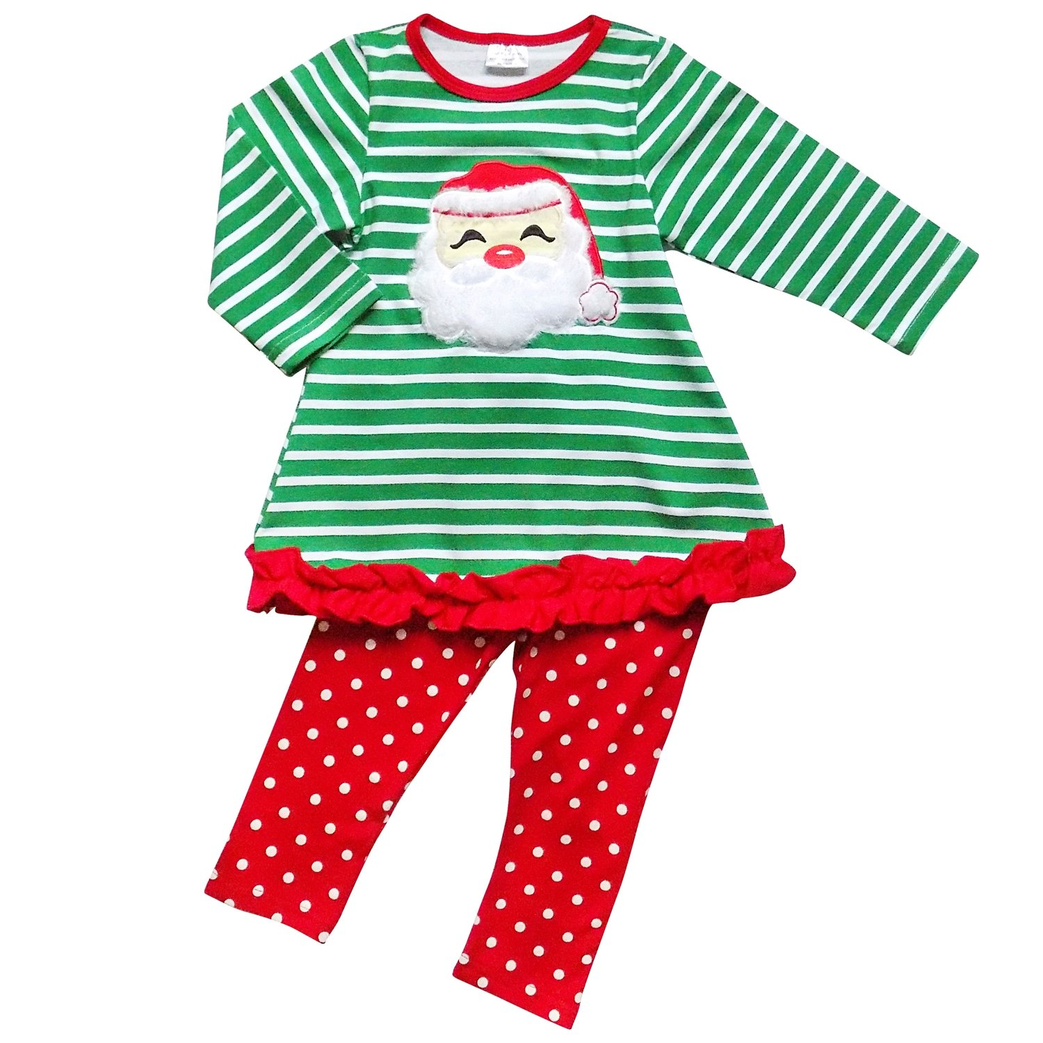 Pvsector Baby Girls Christmas Dress Toddler Infant Santa Claus