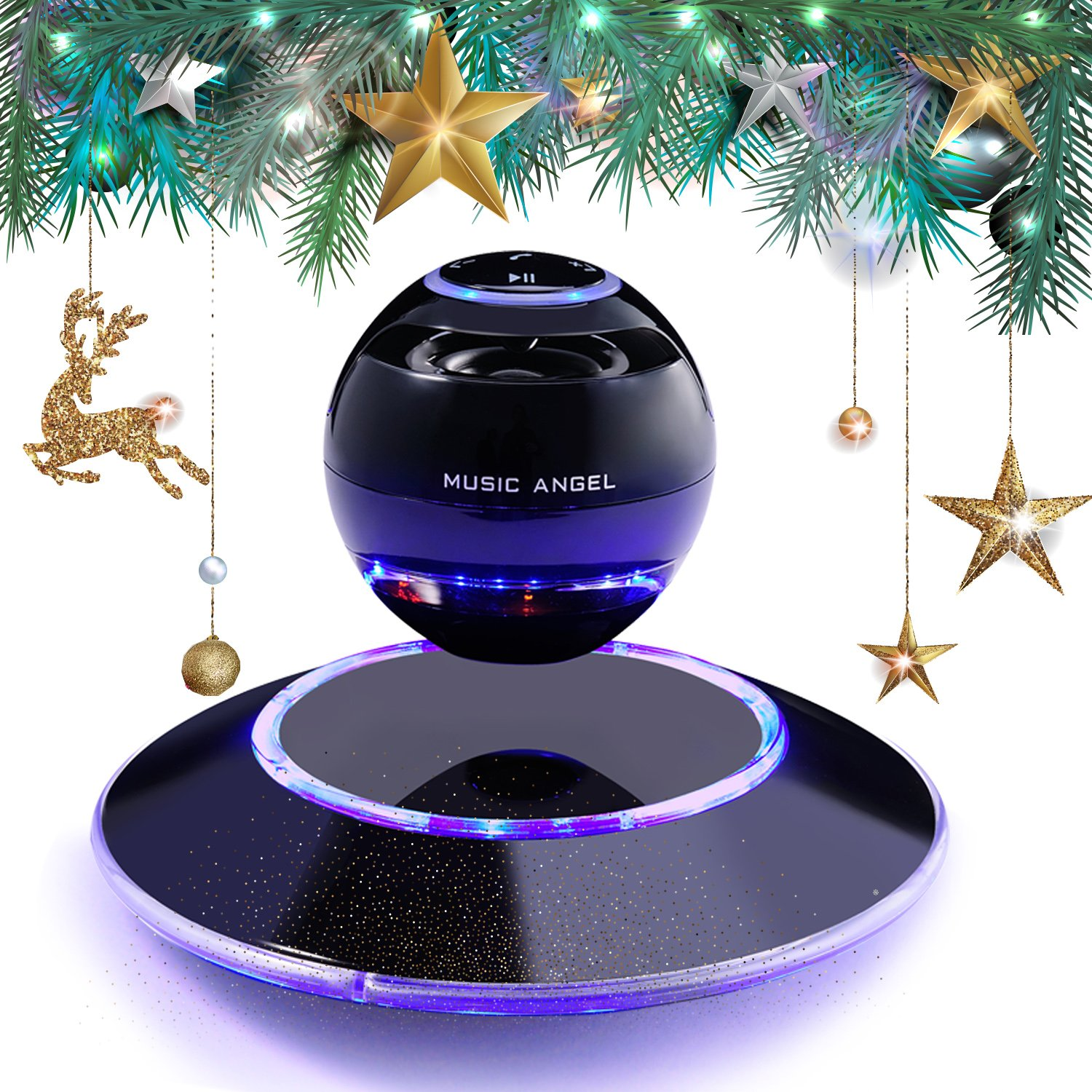 Levitating MUSIC ANGEL Best Floating Bluetooth Speakers