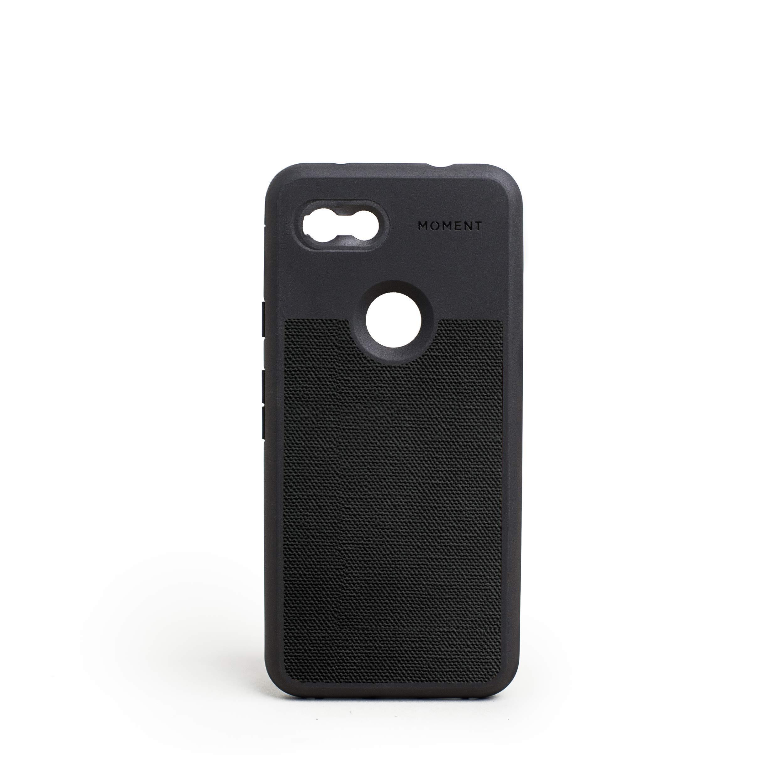 ویکالا · خرید  اصل اورجینال · خرید از آمازون · Pixel 3a Case || Moment Photo Case in Black Canvas - Thin, Protective, Wrist Strap Friendly case for Camera Lovers. wekala · ویکالا