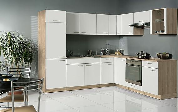 Wohnorama classico küche eck hängeschrank amazon de küche haushalt